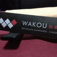 Photo taken at Wakou by Salvatore U. on 2/1/2013