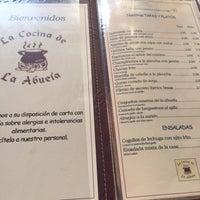 Photo taken at Cocina de La Abuela by Isabel N. on 1/3/2016