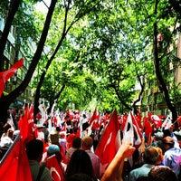 Photo taken at Necatibey Caddesi by Burçak Ç. on 5/19/2013