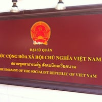 Photo taken at Embassy of the Socialist Republic of Vietnam by R,,,, B. on 10/22/2014