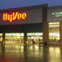 Photo taken at Hy-Vee by Nathan B. on 1/28/2013