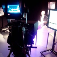 Photo taken at ACTV - Antenne Centre Télévision by Xav D. on 6/10/2013