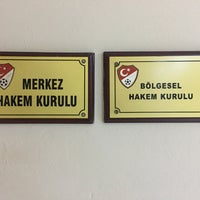 Photo taken at Türkiye Faal Futbol Hakemleri ve Gözlemcileri Derneği   İstanbul Şubesi by Bbbbb D. on 11/30/2016