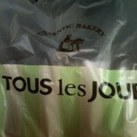 Photo taken at TOUS les JOURS by Irawati B. on 9/14/2012