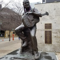 Photo taken at Willie Nelson Statue by Kino on 2/15/2018