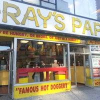 Photo taken at Gray's Papaya by Kino on 5/3/2013