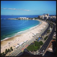 Photo taken at Copacabana Beach by Kino on 7/5/2013