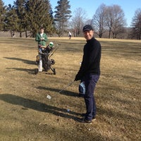 Photo taken at Lincoln Park Golf Course by Jeffrey D. on 3/30/2014