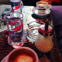 Photo taken at Caffe Bond by Çağla C. on 10/27/2015
