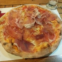 Photo taken at Pizzeria Prima O Poi by By B. on 1/6/2014