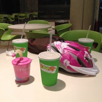 Photo taken at Boost Juice by Norah O. on 1/27/2014