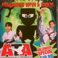 Photo taken at ATA Martial Arts of Southport by Tammara K. on 10/19/2012