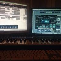 Photo taken at Spaceanddisco Music Studio by Sergio F. on 12/11/2013
