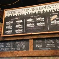 Das Foto wurde bei Societe Brewing Company von Paul T. am 7/21/2013 aufgenommen