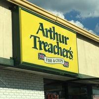 arthur treachers fish and chips
