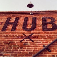 Photo taken at Hub by Mark E. on 5/7/2013