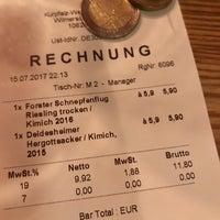 Das Foto wurde bei Kurpfalz Weinstuben von Henrik B. am 7/21/2017 aufgenommen