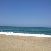 Photo taken at Akkum Plajı by Olcay B. on 6/18/2013