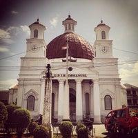 Photo taken at Gereja Blendoeg (GPIB Immanuel Semarang) by Jessica P. on 7/9/2013