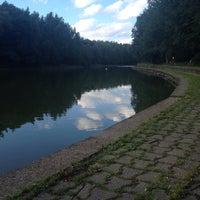 Photo taken at Bois des Bruyeres - Waterloo by Manon U. on 7/19/2015