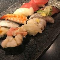 Photo taken at 江戸前回転寿司 魚臣ぎょしん 自由が丘店 by Shinsuke S. on 8/1/2018