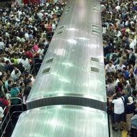 Photo taken at Estação Palmeiras-Barra Funda (CPTM) by Bianca A. on 10/25/2012