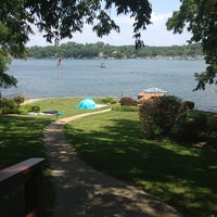 Photo taken at Weatherby Lake, MO by Casey H. on 7/4/2013