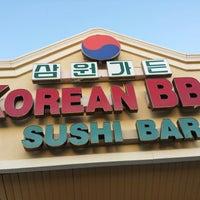 Photo taken at Sam Won Garden Korean BBQ by Amber K. on 4/12/2014