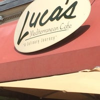 Photo taken at Luca's Mediterranean Cafe by Chuck N. on 6/23/2014