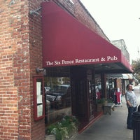 Photo taken at Six Pence Pub by Chuck N. on 9/28/2012