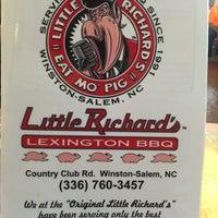 Photo taken at Little Richard's Lexington BBQ by Chuck N. on 8/31/2015