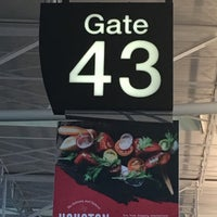 Photo taken at Gate 43 by Chuck N. on 10/5/2016