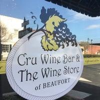 Photo taken at Cru Wine Bar by Chuck N. on 3/31/2016
