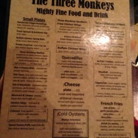 Photo taken at The Three Monkeys by Chuck N. on 5/16/2013