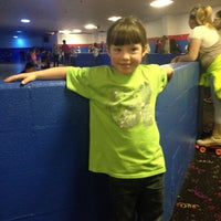 Photo taken at Rainbow Roller Rink by Karrie H. on 2/28/2015