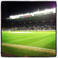 Photo taken at St James' Park by Del N. on 2/14/2013