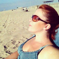 Photo taken at Bolsa Chica State Beach Tower 22 by Amanda B. on 8/16/2013
