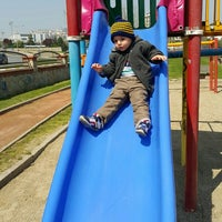 Photo taken at Park by Musa Ş. on 4/13/2015