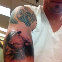 Photo taken at Square City Tattoo by Anthony D. on 10/4/2012