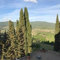 Photo taken at Castello Vicchiomaggio by Rakesh S. on 4/28/2017