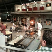 Photo taken at The Hot Shop at the Museum Of Glass by Mare H. on 6/14/2014
