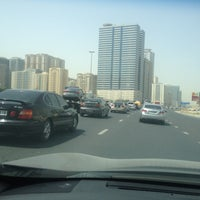 Photo taken at Al Ittihad Rd by moh h. on 4/16/2015