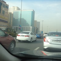 Photo taken at Al Ittihad Rd by moh h. on 3/16/2015
