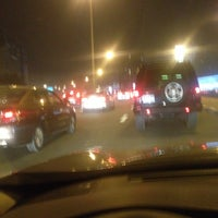 Photo taken at Al Ittihad Rd by moh h. on 4/1/2015
