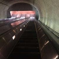 Photo taken at Cleveland Park Metro Station by Rayn C. on 11/20/2015