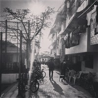 Photo taken at Pak Tai Temple Playground 北帝廟遊樂場 by Nan X. on 1/27/2014