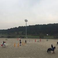 Photo taken at KG&CC Atlı Spor Kulübü by Seval U. on 3/26/2017