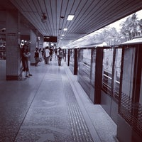 Photo taken at Ang Mo Kio MRT Station (NS16) by Yola .. on 3/2/2013