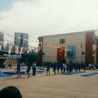 Photo taken at Ístanbul Spor Lisesi by Ezgi K. on 5/19/2016