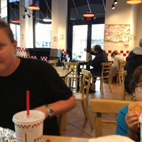 Photo taken at Five Guys by Anne B. on 4/14/2013
